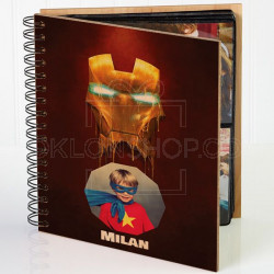 Superheroj Iron Man poklon album za slike