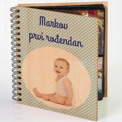 Prvi rođendančić poklon album za slike