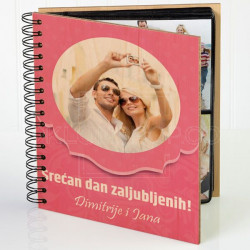 Valentinovo poklon album za slike