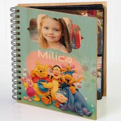 Vini Pu i družina poklon album za slike