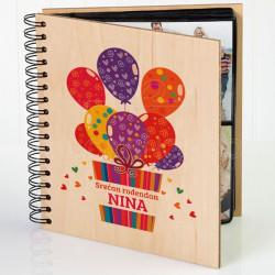 Pokloncici,baloncici poklon album za slike