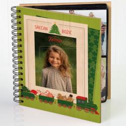 Božićna čarolija poklon album za slike