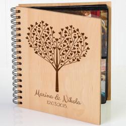 Drvo ljubavi poklon album za slike