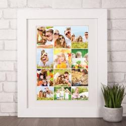 Poklon kolaž od 12 fotografija