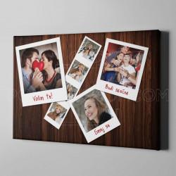 Naše slike poklon foto kolaž od 7 fotografija