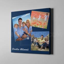 Porodični kolaž poklon kanvas