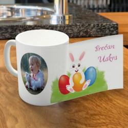 Za Uskrs zeka i jaje poklon šolja