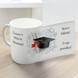 Za diplomiranje čestitamo poklon šolja