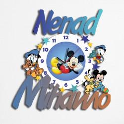 Poklon sat Miki Mouse i drugari