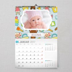 Moja beba poklon kalendar
