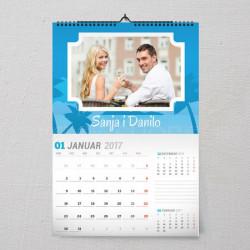 Naša ljubav poklon kalendar