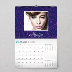 Samo za nju poklon kalendar