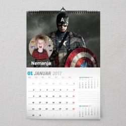 Kapetan Amerika poklon kalendar