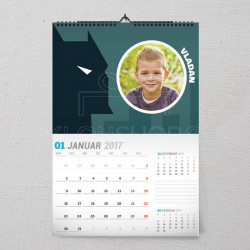 Batman u tami poklon kalendar za dečaka