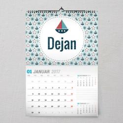 Brodići poklon kalendar