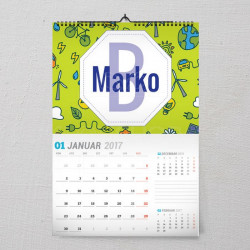 Dečiji poklon kalendar
