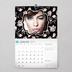 Ružice poklon kalendar za devojku