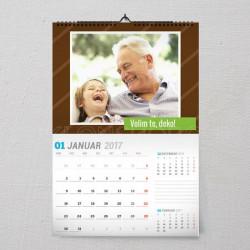 Volim te deko poklon kalendar