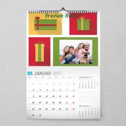 Poklončići poklon kalendar za Novu Godinu