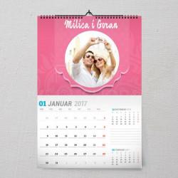 Naša priča poklon kalendar za zaljubljene