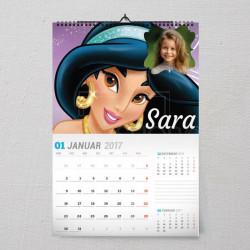 Princeza Jasmin poklon kalendar za devojčice