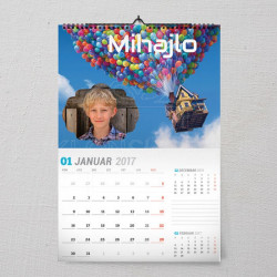 Leteća kućica poklon kalendar