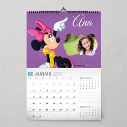 Evo je Mini poklon kalendar za devojčice