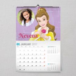 Moja princeza poklon kalendar za devojcice