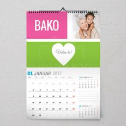 Poklon kalendar za baku