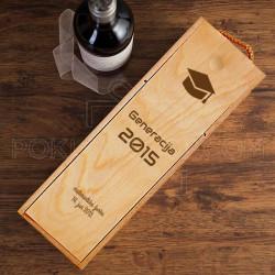 Maturska žurka poklon kutija za vino