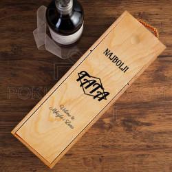 Najbolji tata poklon kutija za vino