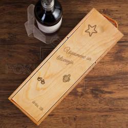 Uspomene sa letovanja poklon kutija za vino