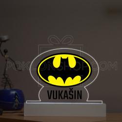 Batman logo poklon lampa