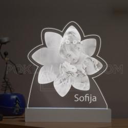 Cvet poklon lampa