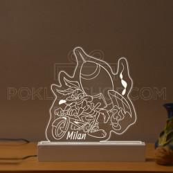 Pera Kojot sa raketom poklon lampa