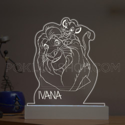 Lion King poklon lampa