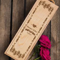 Ime i datum poklon kutija za vino