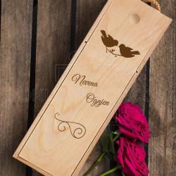Za parove poklon kutija za vino