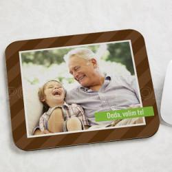 Deda, volim te! poklon podloga za miša