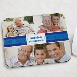 Najboljem dedi na svetu poklon podloga  za miša