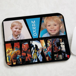 Marvel kolaž poklon podloga za miša