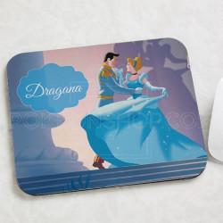 Pepeljuga i princ poklon podloga za miša
