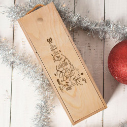 Želimo vam srećan Božić poklon kutija za vino