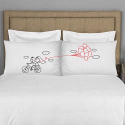 Mladenački bicikl poklon jastučnice