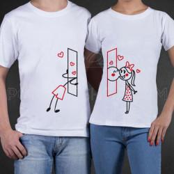 Poljubac sa prozora poklon majice i duksevi