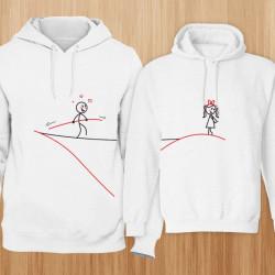 Linija ljubavi poklon majice i duksevi