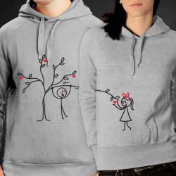 Drvo ljubavi poklon majice i duksevi