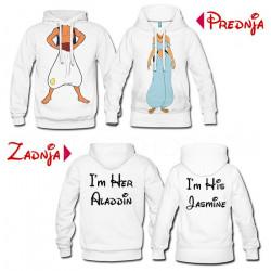 Aladin i Jasmin poklon majice i duksevi