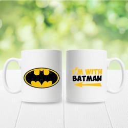 Ja sam sa Betmenom poklon šolje