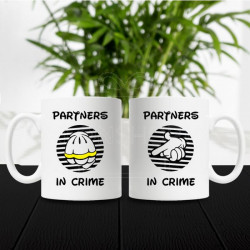 Partneri u zločinu poklon šolje